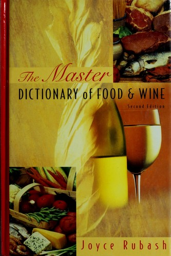 Download The master dictionary of food and wine