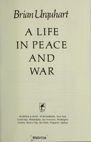 Download A life in peace and war