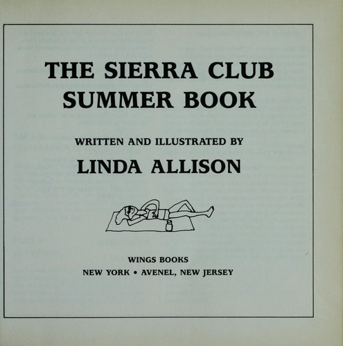 Download The Sierra Club summer book