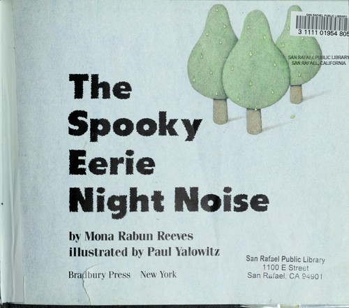 The Spooky Eerie Night Noise