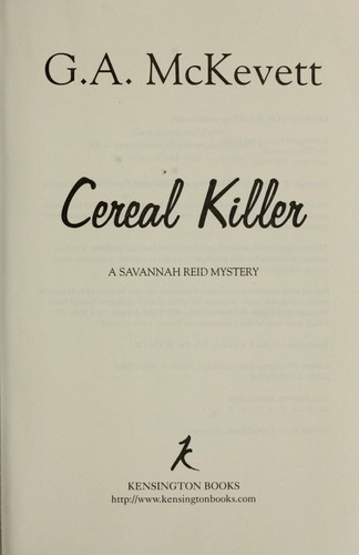 Download Cereal killer