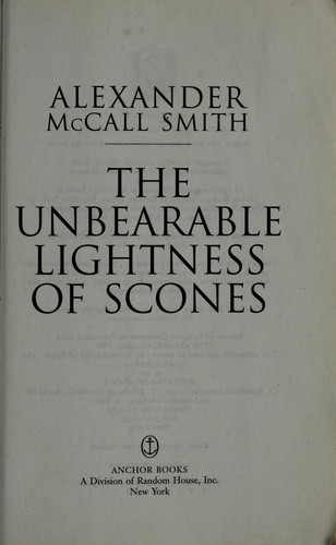 Download The unbearable lightness of scones