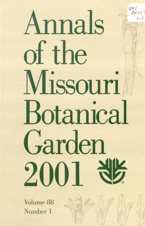 Cover of: Annals of the Missouri Botanical Garden   Missouri Botanical Garden