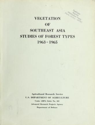 Cover of: Vegetation of Southeast Asia by Llewelyn Williams