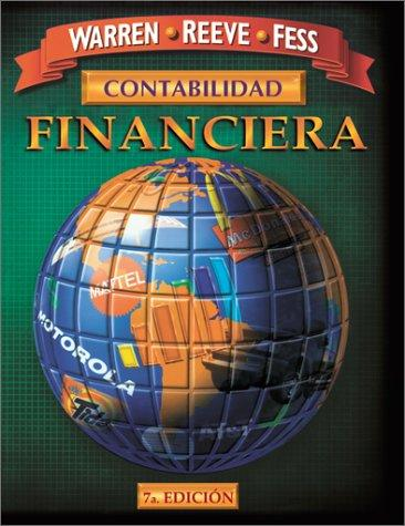 Contabilidad Financiera by Carl S. Warren, James M. Reeve, Philip E. Fess