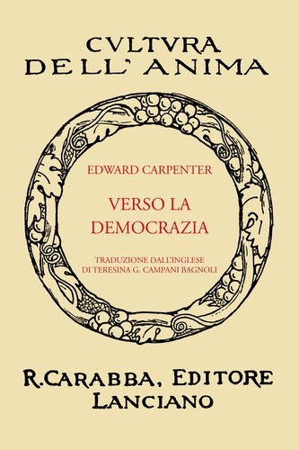 Verso La Democrazia by Edward Carpenter